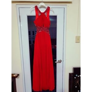 Formal - Prom Red Dress
